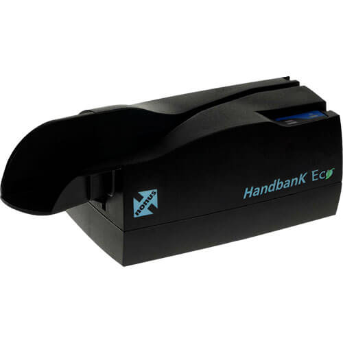 Leitor de Boleto Bancário Nonus Handbank Eco 30  - RW Automação