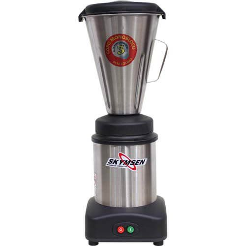 Liquidificador Inox 3,6L Copo Monobloco Skymsen LS-03MB-N 220V  - RW Automação