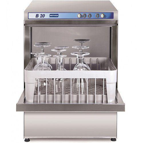 Máquina de Lavar Copos Metvisa B.20 220V  - RW Automação