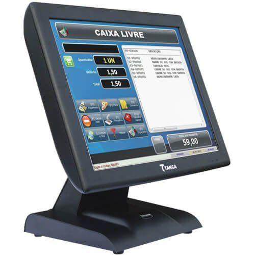 Computador Touch Tanca TPT-640 J1900 4GB SSD64GB  - RW Automação