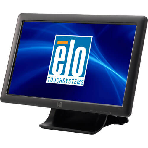 Monitor Touch Screen Elo Touch Solutions 15,6 pol. Widescreen ET1509L  - RW Automação