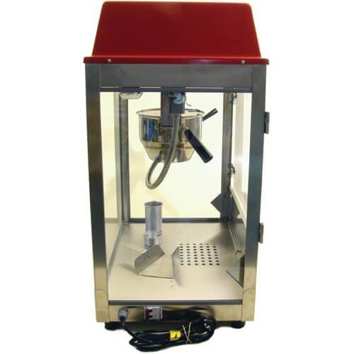Pipoqueira Elétrica 250g / 8oz PPL - Warm  - RW Automação