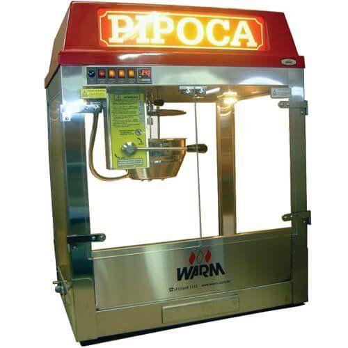 Pipoqueira Elétrica 900g / 32oz PSX Standart - Warm  - RW Automação