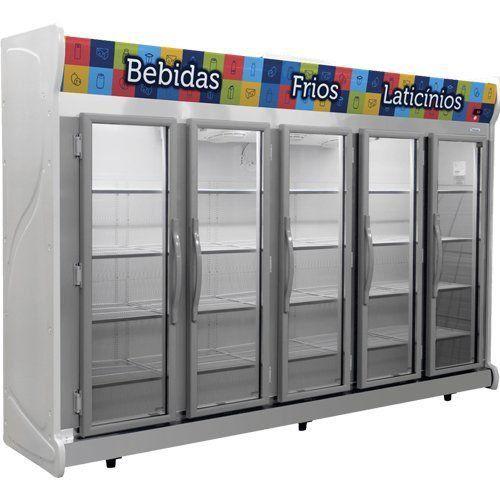Refrigerador Expositor Auto Serviço 2375L Fricon ACFM 2375 127V  - RW Automação