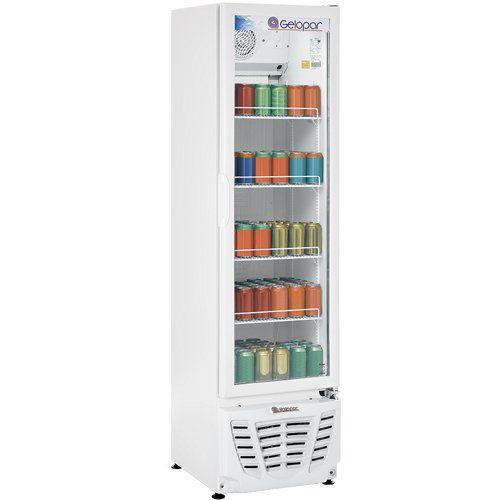 Refrigerador Expositor Vertical 230L Gelopar Turmalina GPTU-230 BR 220V  - RW Automação