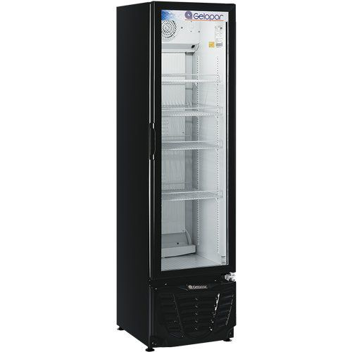Refrigerador Expositor Vertical 230L Gelopar Turmalina GPTU-230 PR 220V  - RW Automação