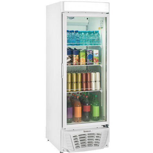 Refrigerador Expositor Vertical 570L Gelopar Esmeralda GLDR-570AF BR 220V  - RW Automação