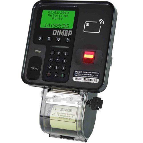 Relógio de Ponto Biométrico Dimep Smart Point  - RW Automação