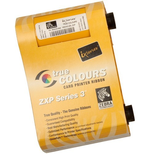 Ribbon Colorido Zebra YMCKOK ZXP Série 3  - RW Automação