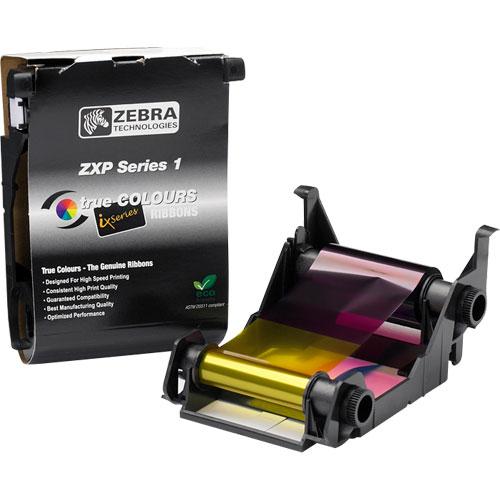 Ribbon Colorido Zebra YMCKO ZXP Série 1  - RW Automação