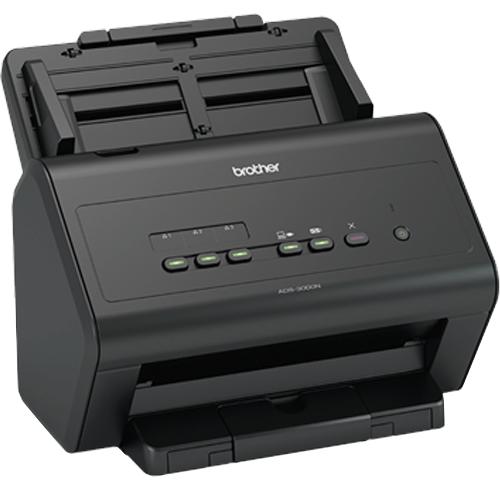 Scanner Brother ADS-300N Ethernet / USB  - RW Automação