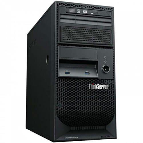 Servidor Lenovo ThinkServer TS150 Xeon E3-1225 v5 3.3GHz HD1000GB  - RW Automação
