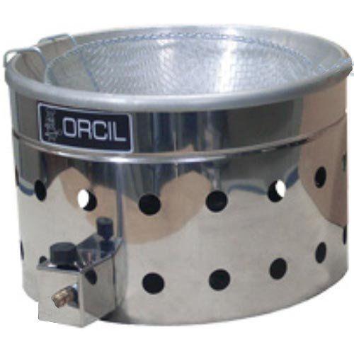 Tacho de Fritura a Gás Inox 7L Orcil TG7  - RW Automação