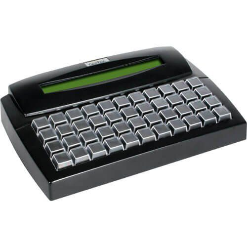 Teclado Programável Gertec TEC-E 44 c/ Display USB  - RW Automação