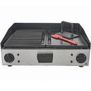 Chapa Elétrica Grill e Lanches 2800W c/ Saia Cotherm 127V