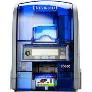 Impressora de Crachá Frente e Verso Datacard SD360