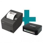 Kit SAT Fiscal D-SAT 2.0 Dimep + Impressora TM-T20 Epson
