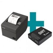 Kit SAT Fiscal TS-1000 Tanca + Impressora TM-T20 Epson