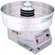 Máquina de Algodão Doce Industrial 2 Cores Inox Pinheiro Colorful PA-TC 220V