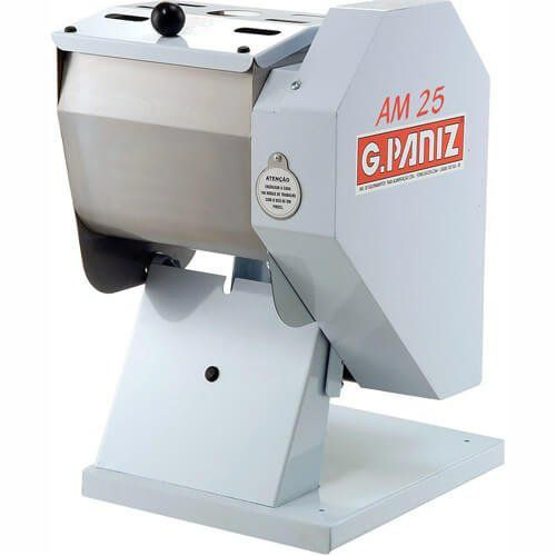 Amassadeira Semi-Rápida Basculante 25kg G.Paniz AM-25 127V  - M3 Automação