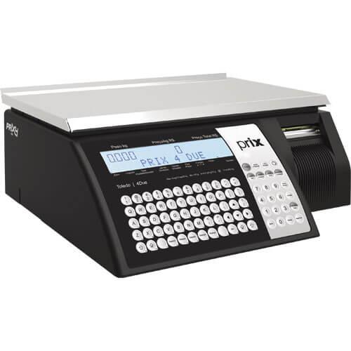 Balança Impressora Toledo Prix 4 Due 30Kg Ethernet INMETRO  - M3 Automação