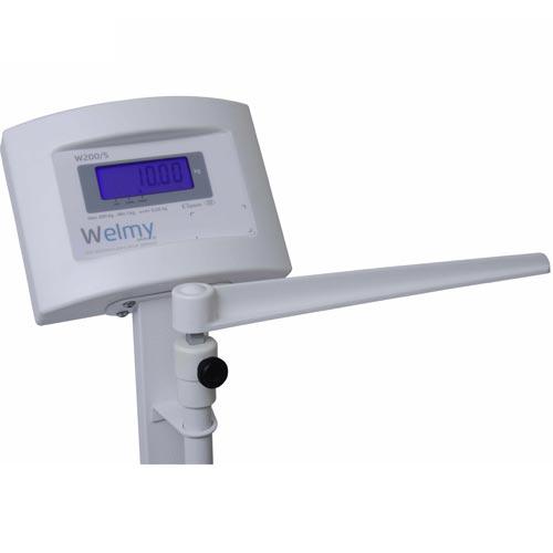 Balança para Pesar Pessoas Welmy W 200/100A 200Kg c/ Antropômetro INMETRO  - M3 Automação
