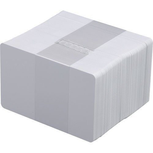 Cartão PVC Zebra Branco 0,76mm 5 Pacotes com 100 UN  - M3 Automação