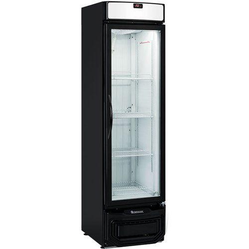 Freezer Expositor Vertical 315L Gelopar Esmeralda GLDF-315 PR 220V  - M3 Automação