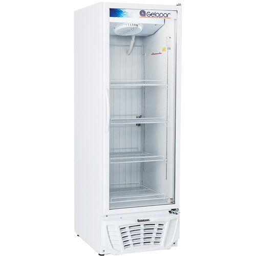 Freezer Expositor Vertical 570L Gelopar Turmalina GPTF-570 BR 220V  - M3 Automação