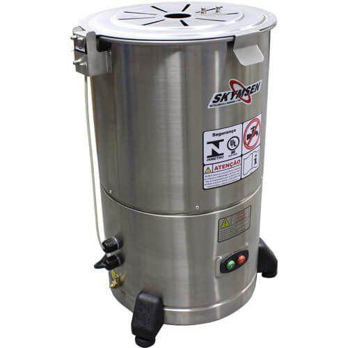 Descascador de Legumes Inox 6kg Skymsen DB-06 127V  - M3 Automação