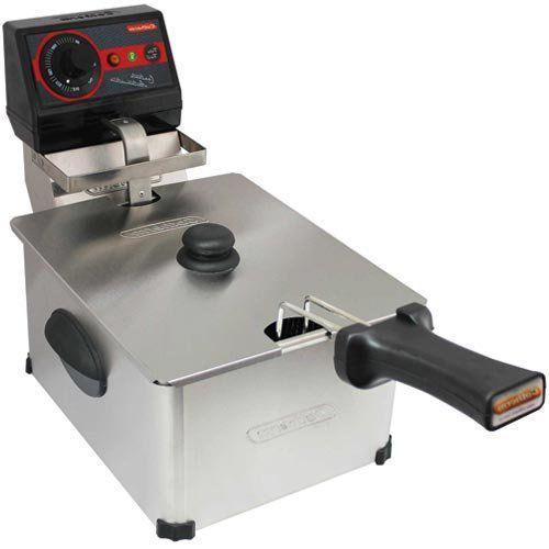 Fritadeira Elétrica 1 Cuba Inox 5L Cotherm Frita Fácil 127V  - M3 Automação