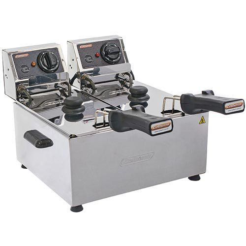 Fritadeira Elétrica 2 Cubas Inox 2x3L Cotherm Turbo 220V  - M3 Automação