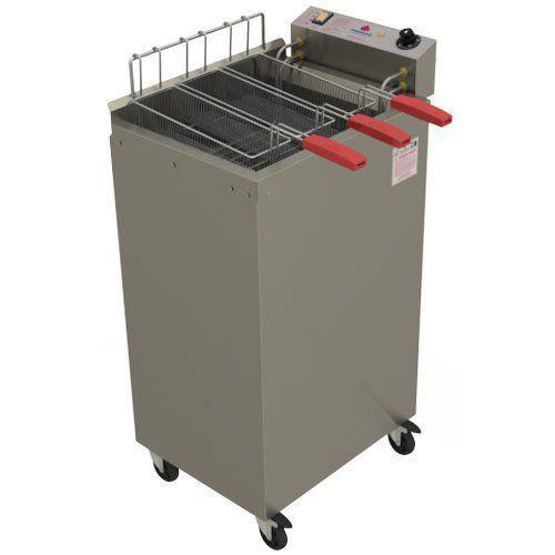 Fritadeira Elétrica Água e Óleo 1 Cuba 22L Progás Fry Fritter PR-2008E ST 220V  - M3 Automação
