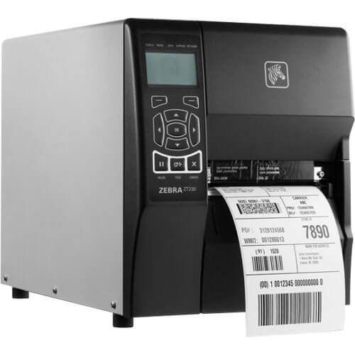 Impressora de Etiquetas Térmica Zebra ZT230 Ethernet  - M3 Automação