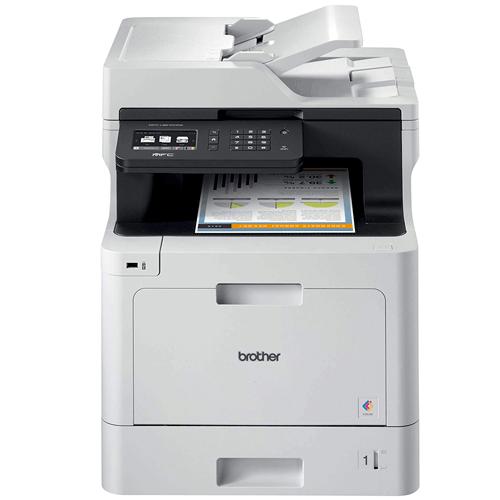Impressora Multifuncional Laser Brother MFC-L8610CDW USB / Wi-Fi  - M3 Automação