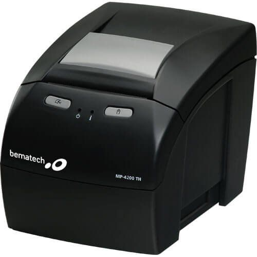 Impressora Não Fiscal Térmica Bematech MP-4200 TH Ethernet  - M3 Automação