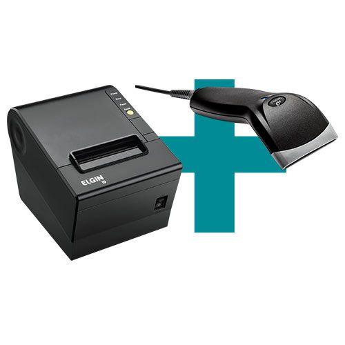 Kit Impressora i9 Elgin + Leitor BR-400 Bematech  - M3 Automação