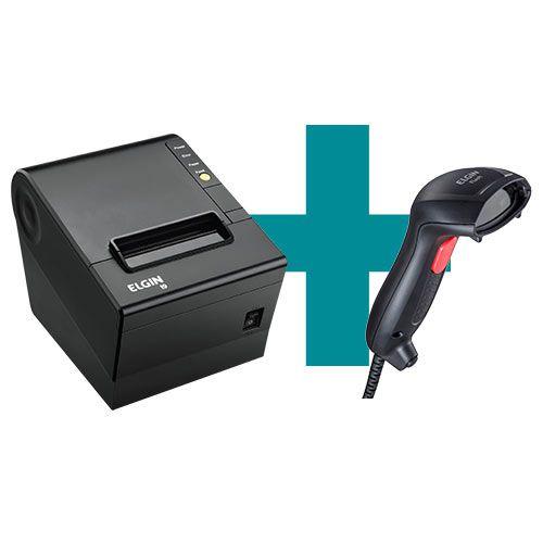 Kit Impressora i9 + Leitor Flash - Elgin  - M3 Automação