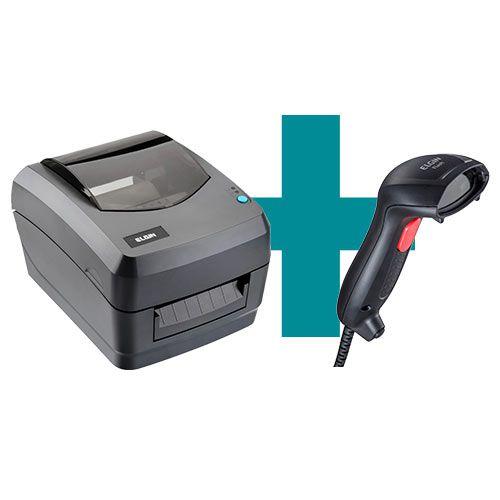 Kit Impressora L42 + Leitor Flash - Elgin  - M3 Automação