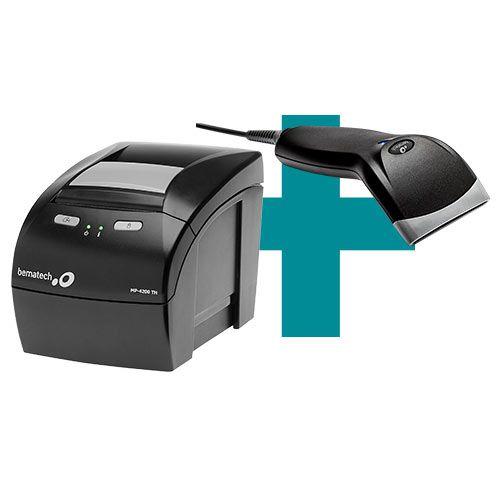 Kit Impressora MP-4200 TH + Leitor BR-400 - Bematech  - M3 Automação