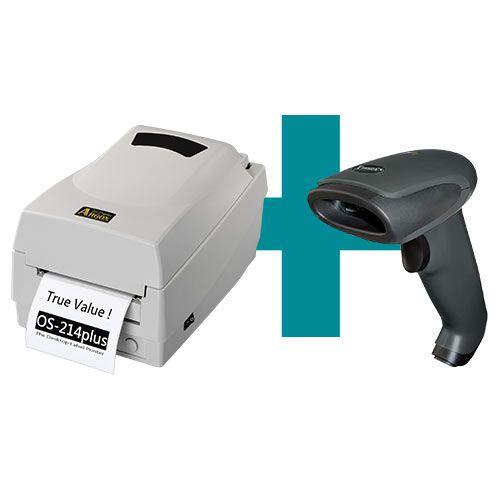 Kit Impressora OS-214 Plus Argox + Leitor TL-120 Tanca  - M3 Automação
