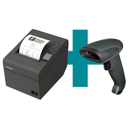 Kit Impressora TM-T20 Epson + Leitor TL-120 Tanca  - M3 Automação