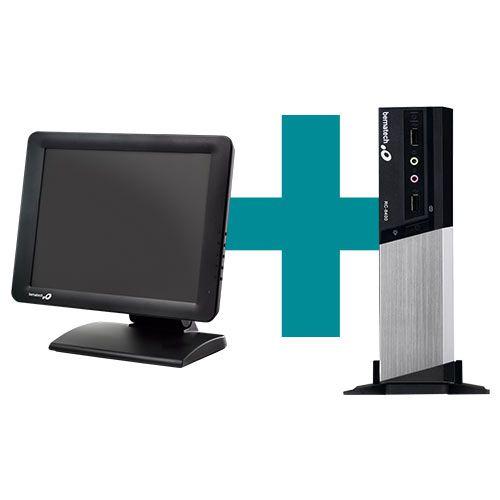 Kit Monitor TM-15 + Computador RC-8400 - Bematech  - M3 Automação