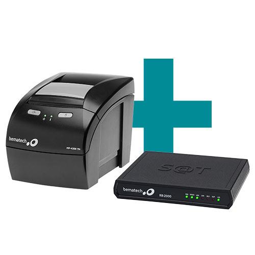 Kit SAT Fiscal RB-2000 FI + Impressora MP-4200 TH - Bematech  - M3 Automação