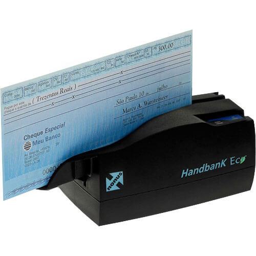 Leitor de Boleto Bancário e Cheque Nonus Handbank Eco 10  - M3 Automação