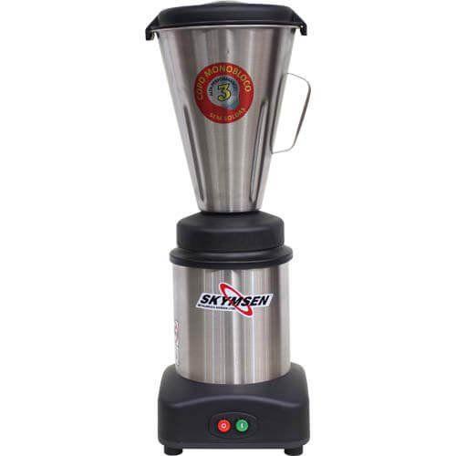 Liquidificador Inox 3,6L Copo Monobloco Skymsen LS-03MB-N 127V  - M3 Automação