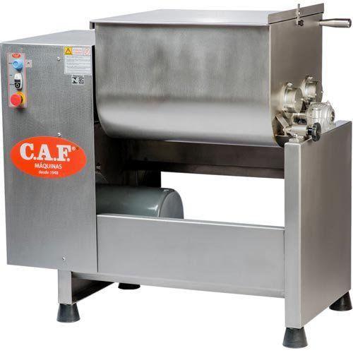 Misturador de Carnes Inox M-120 - CAF Máquinas  - M3 Automação