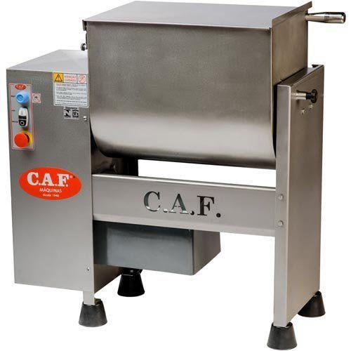 Misturador de Carnes Inox M-60 - CAF Máquinas  - M3 Automação