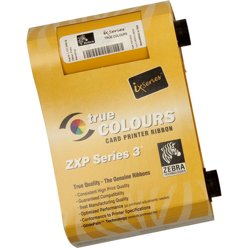 Ribbon Colorido Zebra YMCKO ZXP Série 3  - M3 Automação