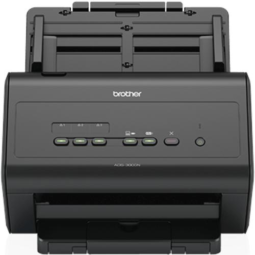 Scanner Brother ADS-300N Ethernet / USB  - M3 Automação